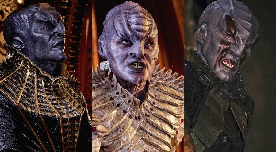 Star Trek Discovery Cast Klingons