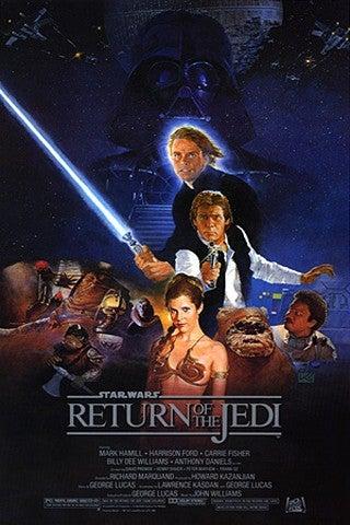Star Wars: Episode VI - Return of the Jedi movie poster image