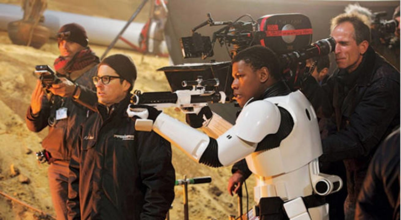 JJ Abrams Says He'll Keep Begging to Work With John Boyega After Protest Speech