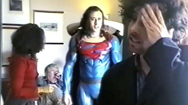Superman Lives Burton Cage