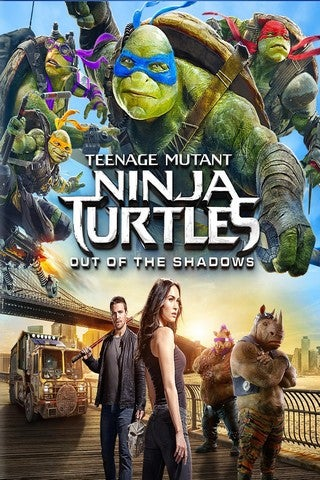 Teenage Mutant Ninja Turtles: Out of the Shadows movie poster image