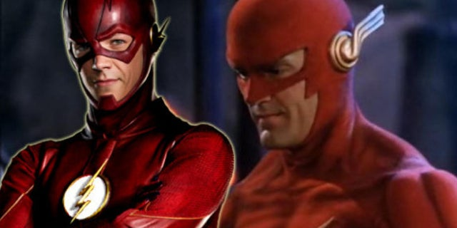 The Flash '90s Costume on CW's The Flash Series