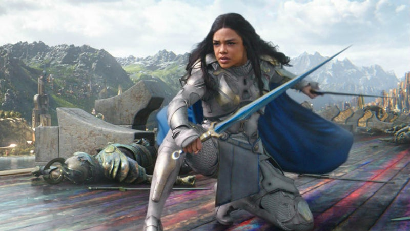 Thor 3 Ragnarok Valkyrie Fight Scenes