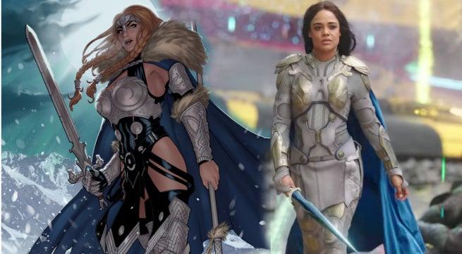 Thor 3 Ragnarok Valkyrie Tessa Thompson Race Controversy