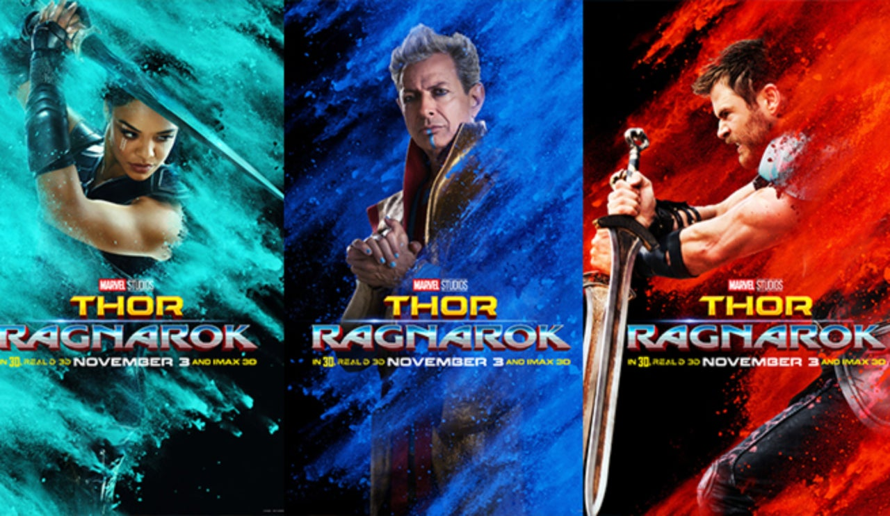 Thor Ragnarok Character Posters Released