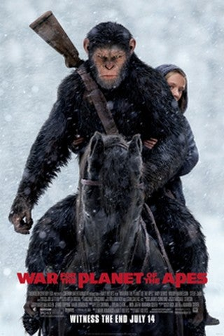 War for the Planet of the Apes movie poster image