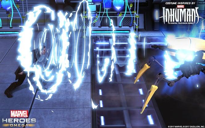 Inhumans' Black Bolt Shakes Things Up In Marvel Heroes Omega
