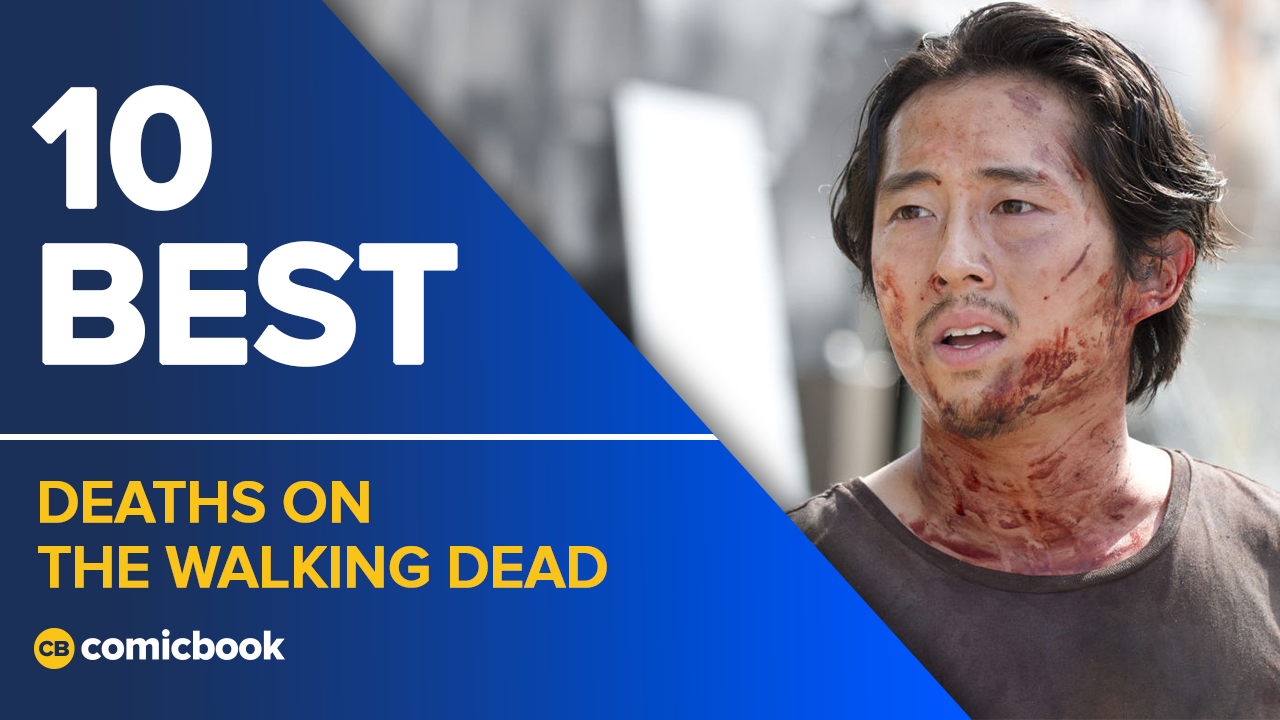 10 Best Deaths on TWD