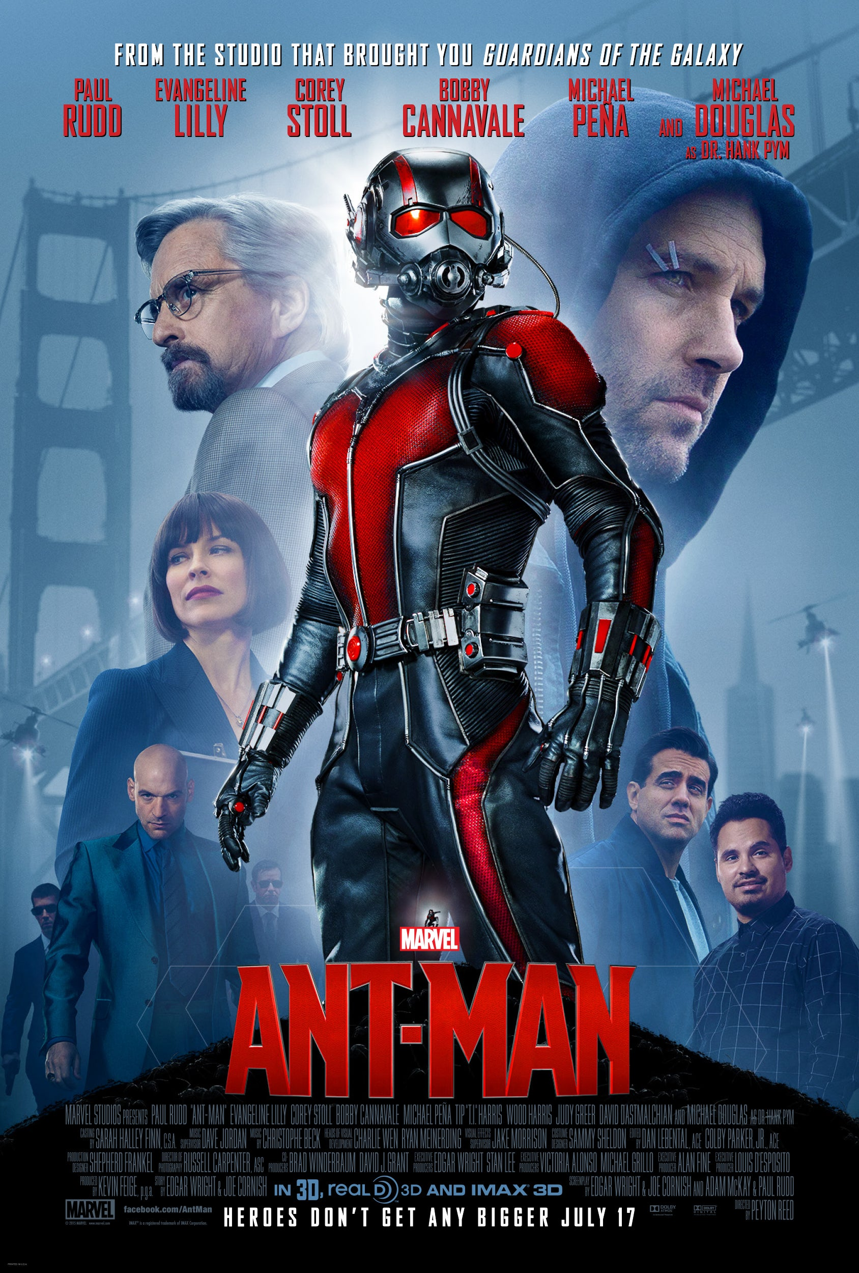Ant-Man Movie Poster - Marvel Cinematic Universe