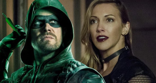 arrow oliver queen black siren