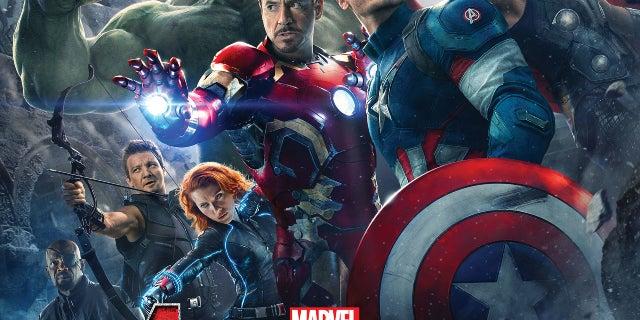 Avengers 2 Movie Poster - Marvel Cinematic Universe