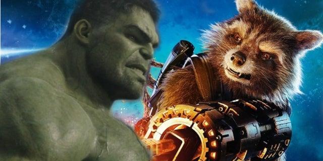 Avengers 3 Hulk Rocket Raccoon