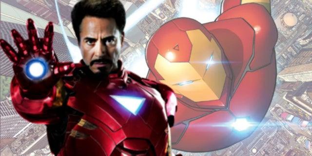 Avengers Infinity War Iron Man Model Prime Armor Artwork