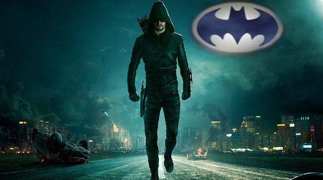 Batman on Arrow