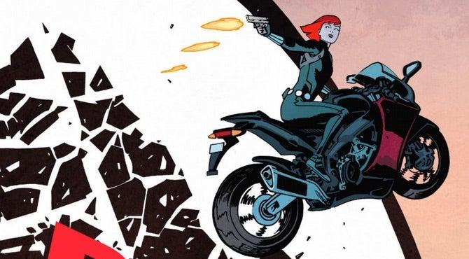 Black Widow v1 cover