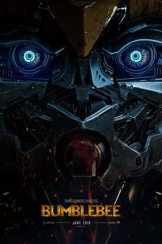 Bumblebee movie poster image