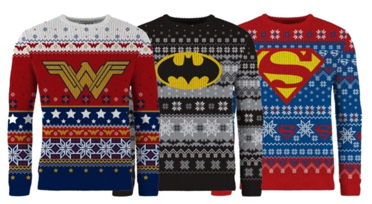 join the ugly christmas sweater justice league