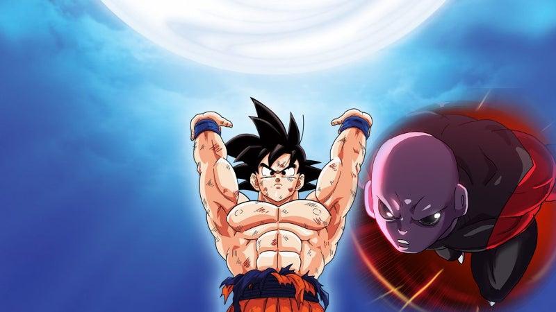 Dragon Ball Super Jiren Deflects Goku's Spirit Bomb
