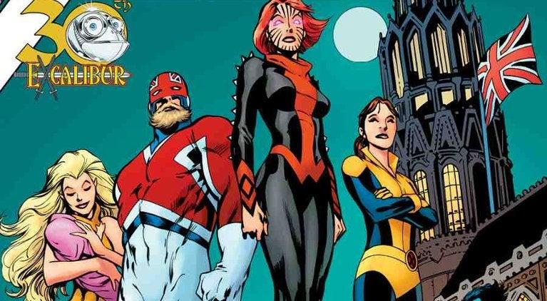 Excalibur X-Men Gold