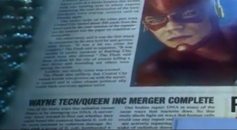 flash crisis newspaper