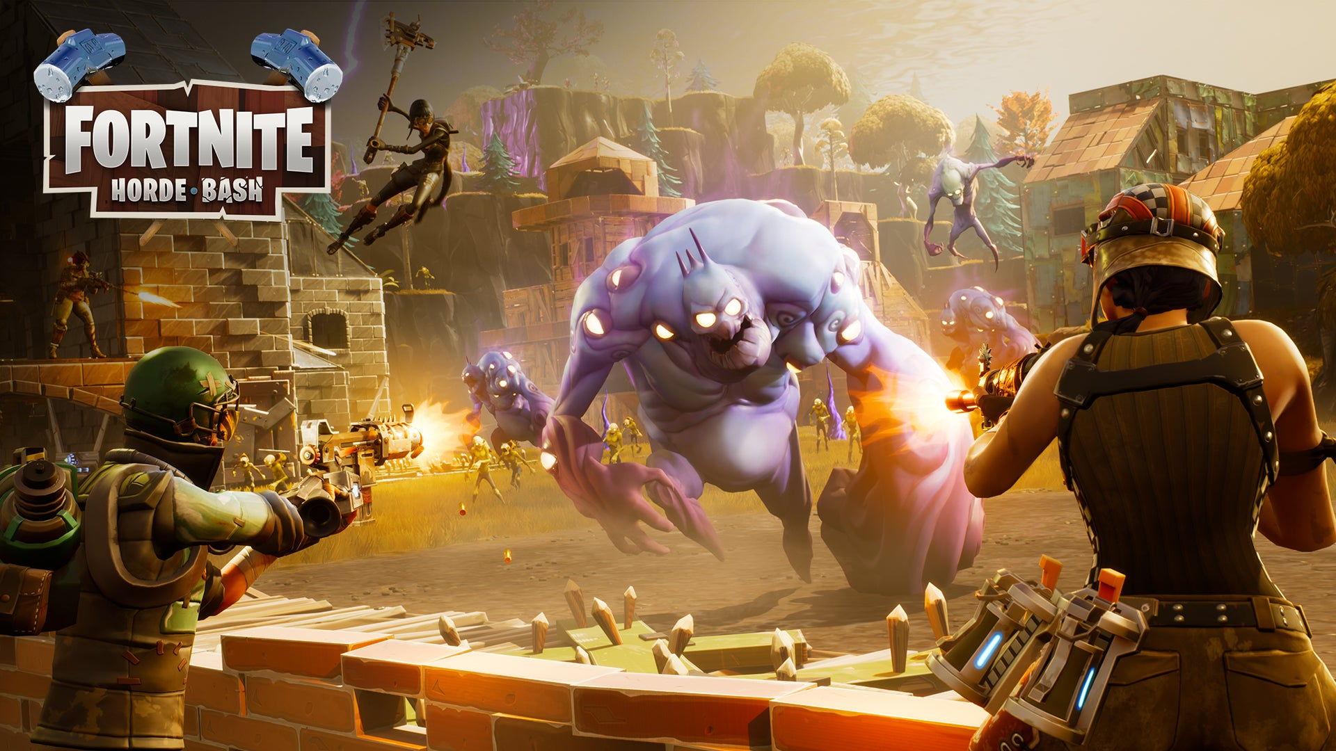 Fortnite Horde Bash Art