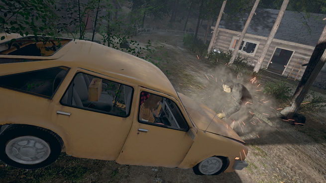 Friday the 13th The Game Car