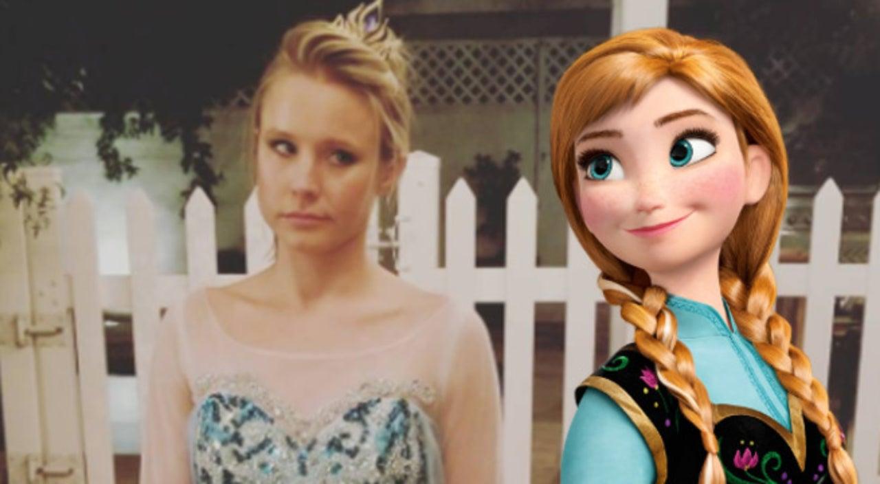 Kristen Bell Dresses As Elsa For Halloween Because Her Daughter