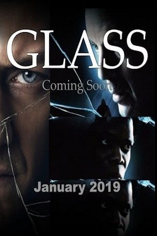Glass (2018) movie poster image