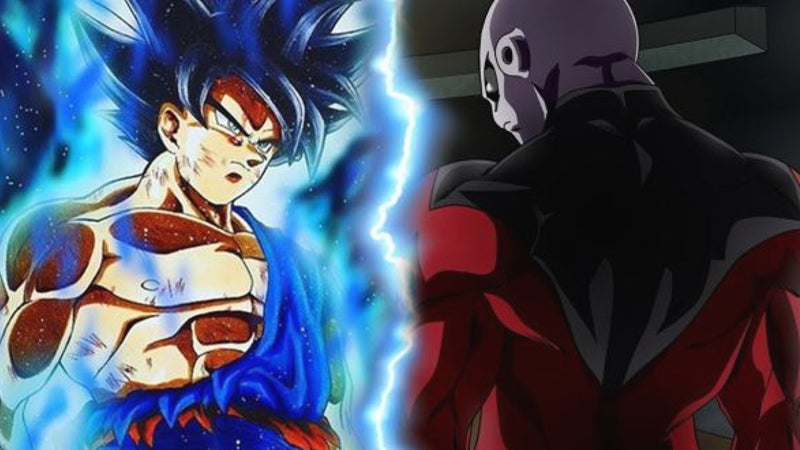 Goku Ultra Instinct vs Jiren Dragon Ball Super