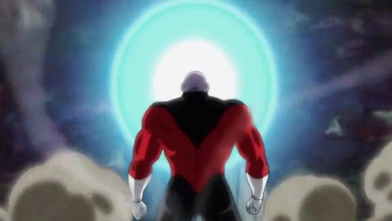 Goku vs Jiren Spirit Bomb