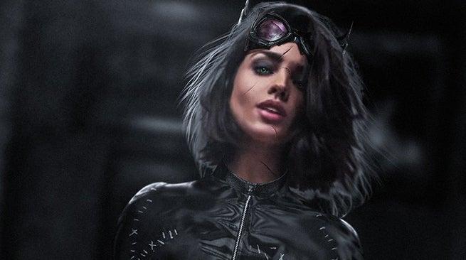 Gotham City Sirens Eiza Gonzalez as Catwoman