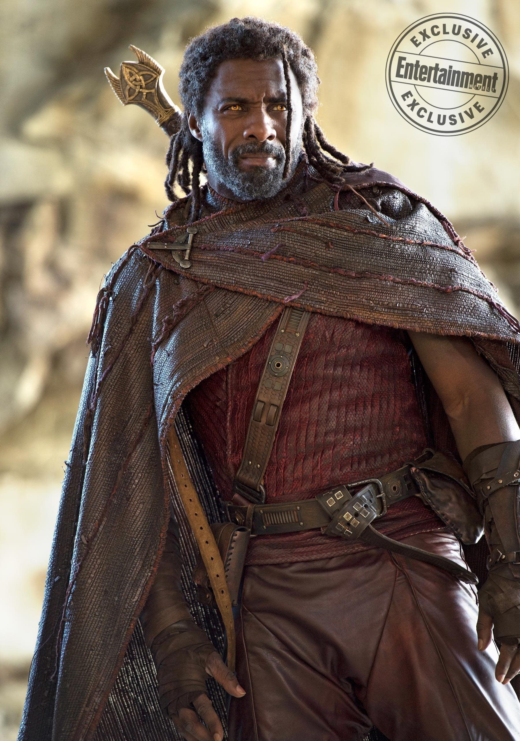 Idris Elba as Heimdall in Thor 3