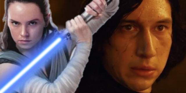 Adam Driver Teases Kylo and Rey's Relationship Heading Into Star Wars: The Rise of Skywalker