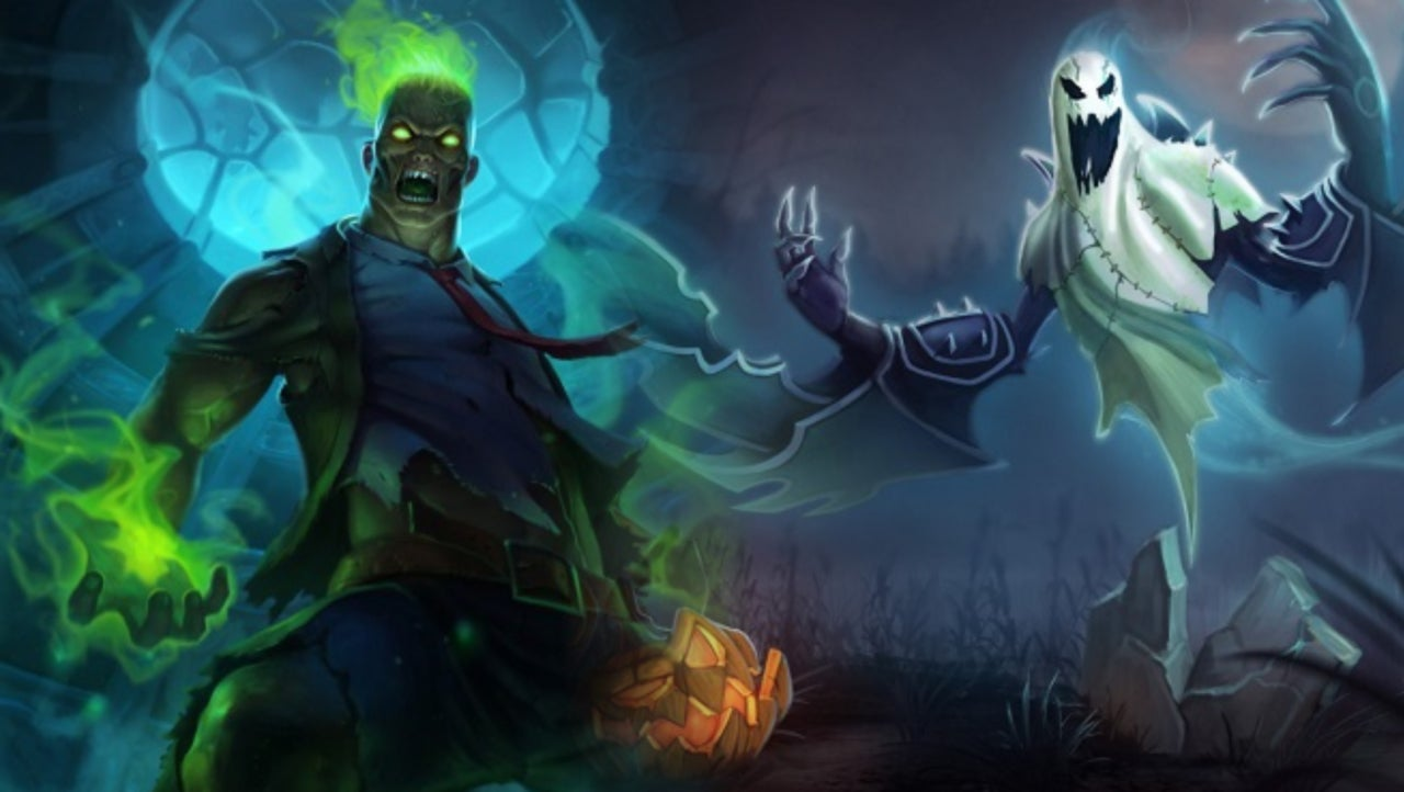 the best league of legends skins for halloween