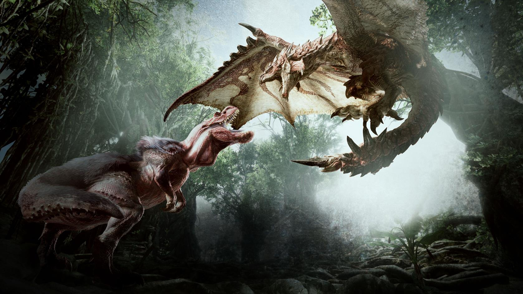 monster hunter world reveal artwork 3 1039822 - A Monster Hunter virgin just killed an Anjanath... As in me, I just did. Early game too.