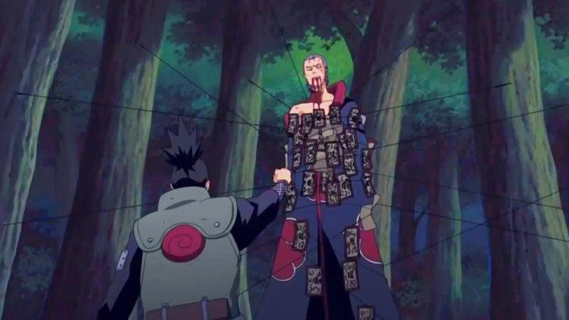 Naruto Hidan Death