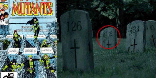 new mutants cover graveyard