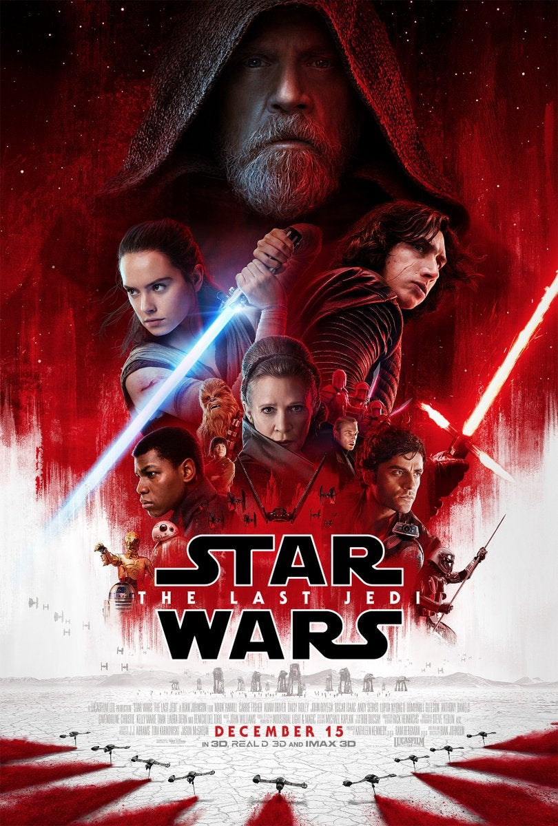 new star wars the last jedi poster