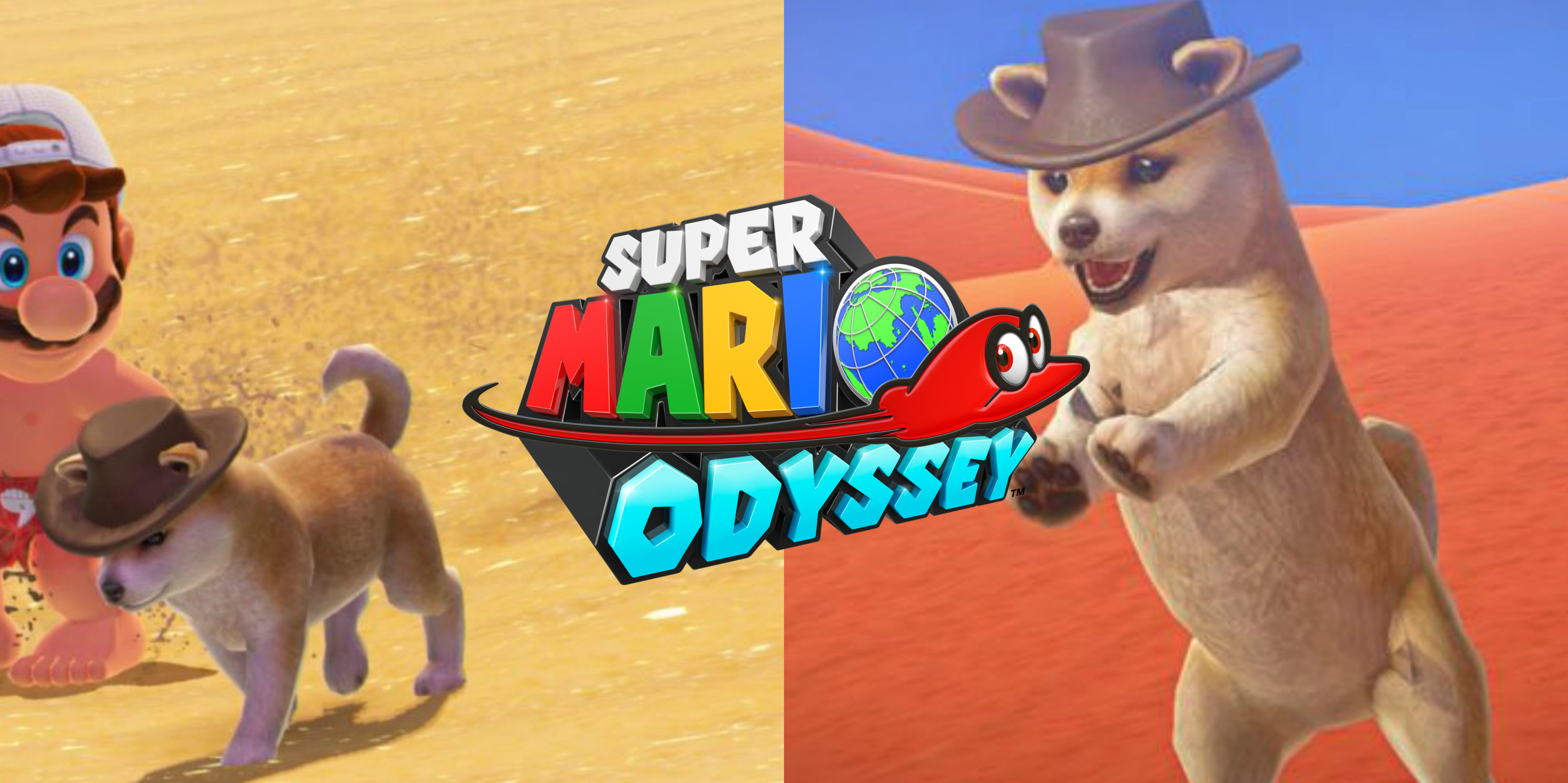 The Best Part Of Super Mario Odyssey The Adorable Puppers You Can