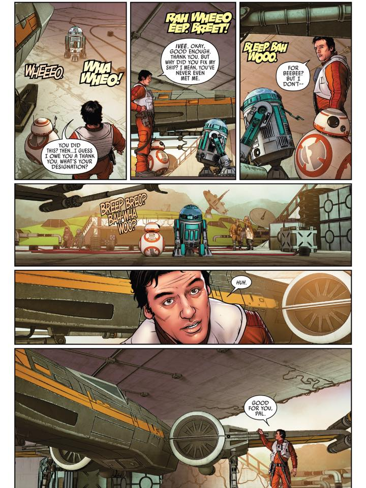 poe dameron comic bb-8 girlfriend