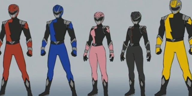 Power Rangers Hyperforce Details And Rangers Released