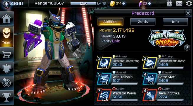 Power-Rangers-Legacy-Wars-Predazord