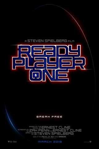 Ready Player One movie poster image