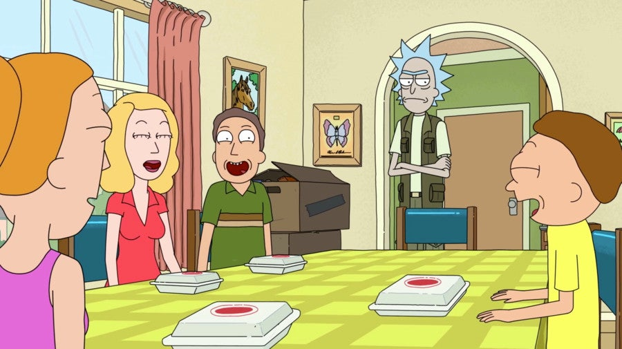rick and morty finale beth and jerry reunited