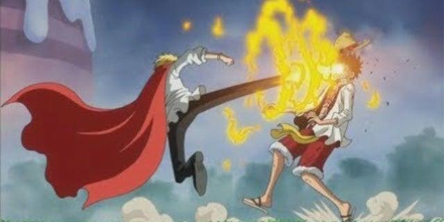 Sanji vs Luffy