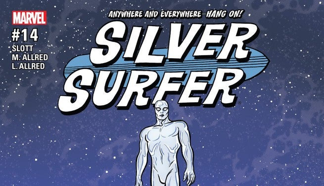 Silver Surfer #14 Review Cover