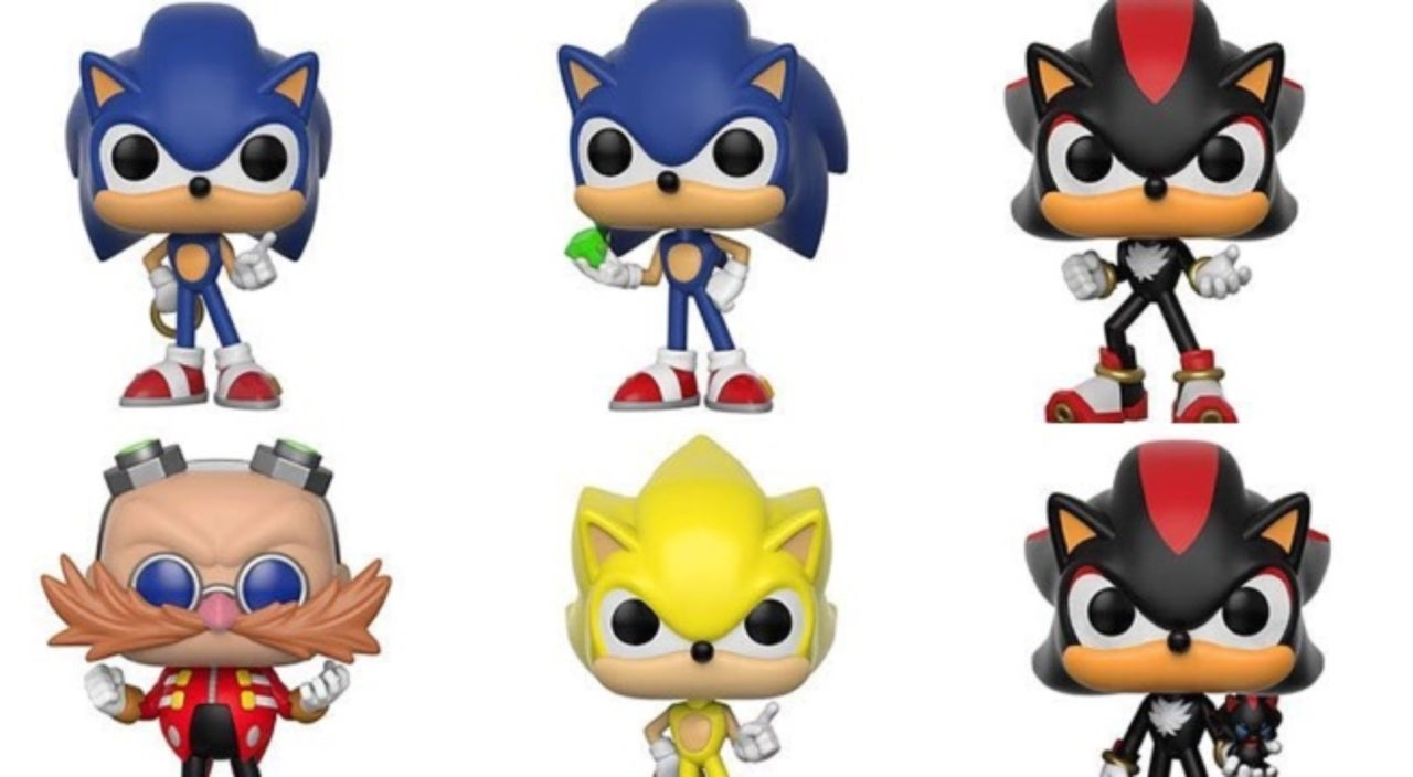 Sonic The Hedgehog Speeds Into Your Funko Pop Collection