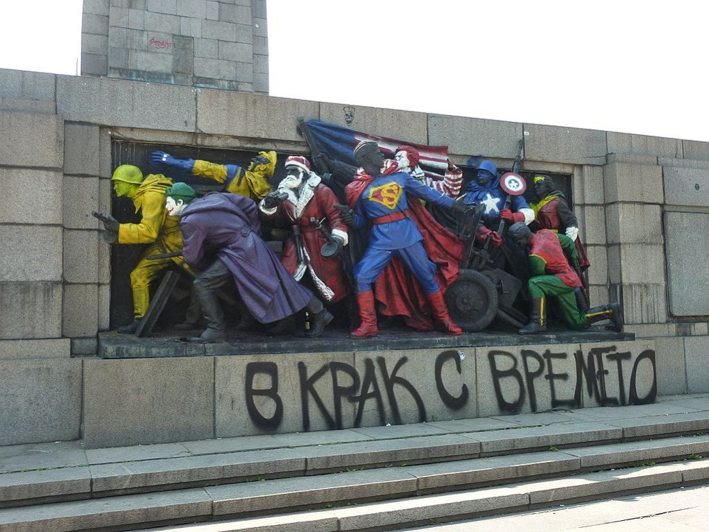 soviet-monuments-vandalized-look-like-american-superheroes