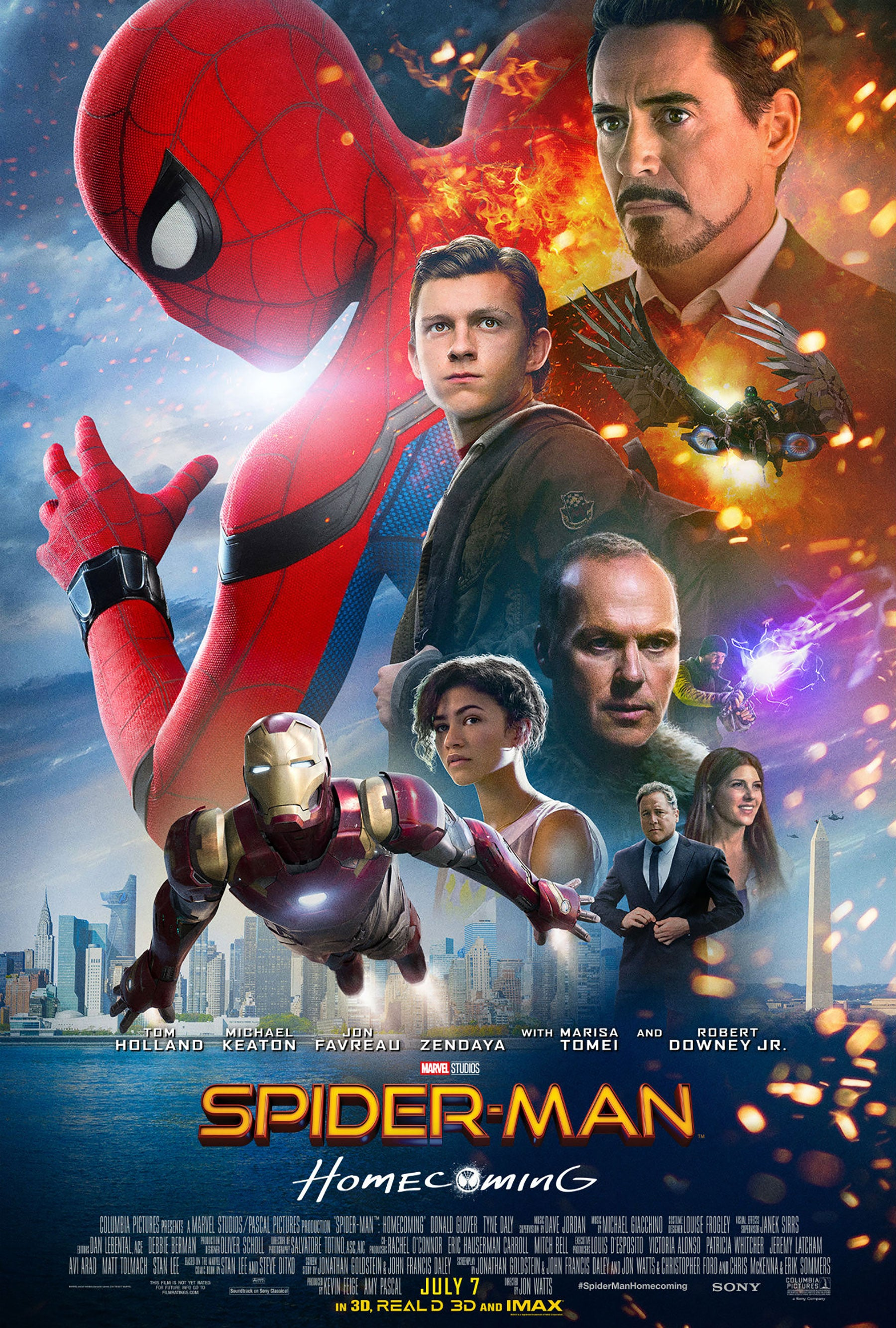Spider-Man Homecoming Movie Poster - Marvel Cinematic Universe