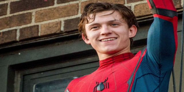 Spider-Man Homecoming Tom Holland